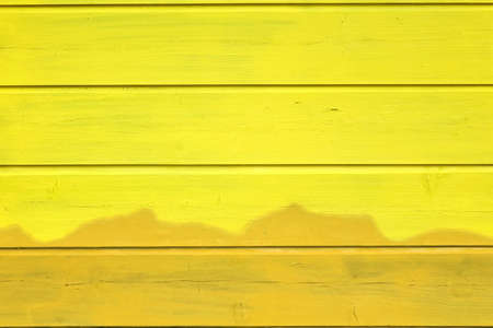 wood paneling: Bicolor Yellow Wood Paneling Texture Or Isolated Background  With Abstract Pattern, Horizontal Image