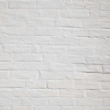 white washed: Abstract Rectangular White Texture. White Washed Old Brick Wall With Stained And Shabby Uneven Plaster. Painted White Grey Brickwall Background. Home House Room Interior Design. Square Wallpaper Stock Photo