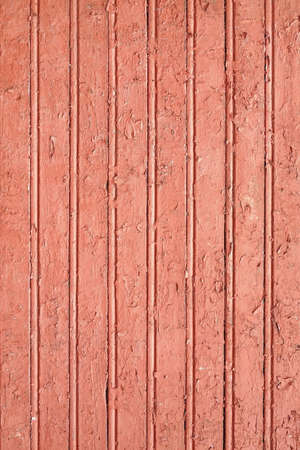 Vertical Barn Wooden Wall Plank Red Texture. Rustic Wood Background. Shabby Chic Brown Design Element. Exterior Or Interior Wood Panel Surface. Barn Wood Vintage Structure. Red Brown Paint Wood Wall Reklamní fotografie