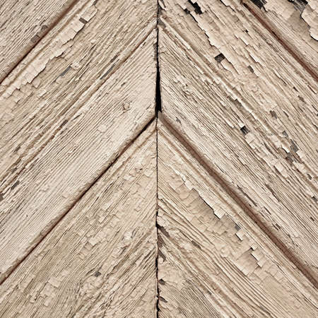 Tiled Wooden Wall Planking Frame Texture. Old Rustic Wood Slats Shabby Square Background With Diagonal Pattern. Peeled Isolated Parquet Ornament. Natural Wood Board Panel Abstract Decorative Wallpaper