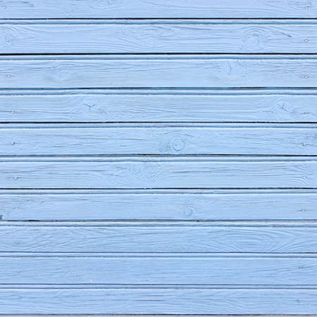 Blue Barn Wooden Wall Planking Frame Texture. Old Retro Wood Slats Rustic Shabby Square Background. Paint Peeled Azure Weathered Isolated Surface. Interior Natural Wood Board Panel Wallpaper