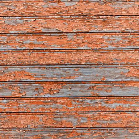 Frame Old Barn Wood Background. Brown Red Wooden Square Texture. Timber Isolated Wallpaper. Timber Hardwood Outdoor Horizontal Vertical Signboard Or Billboard With Copy Space. Shabby Paint Pine Pane