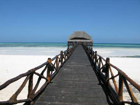 zanzibar: Egzotic strand van Zanzibar