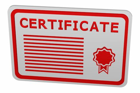 Concept: certificate