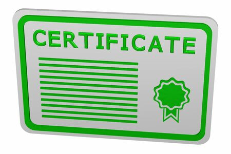 attestation: Concept: certificate
