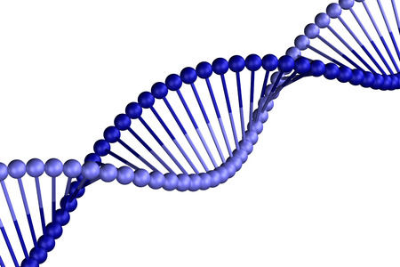 cytosine: Concept: DNA, isolated on white background. 3D render.