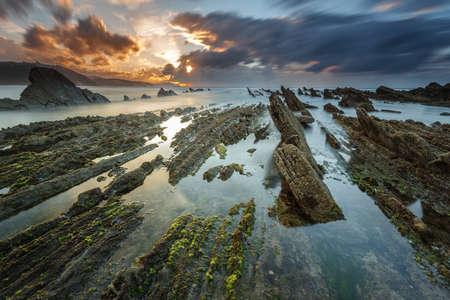 Sakoneta beach 版權商用圖片