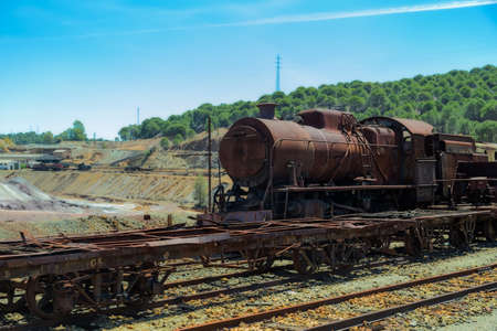 Abandoned train minrery