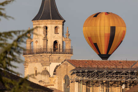 Balloon festival in Vitoria, Alava, Spain on October 2018