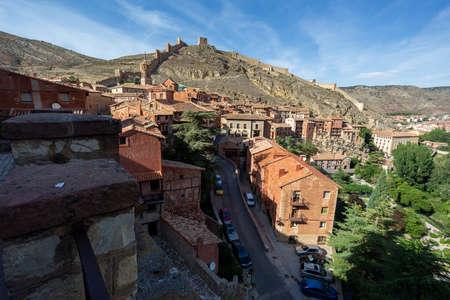 Albarracin historic medieval village in Teruel, Spain