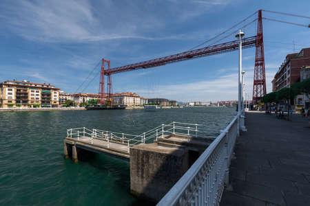 Puente colgante, bizkaiko zubia, unesco heritage in Vizcaya