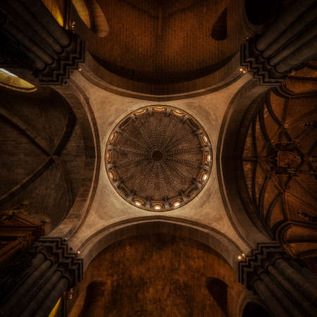 Romanic Cathedral at Zamora in Spain, ancient sanctuary