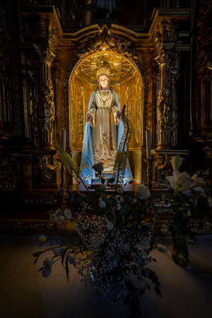 Holy Mary, Virgin at the Cathedral in Zamora, Spain