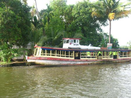 allepey: passenger boat