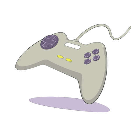 botton: gamepad icon flat color