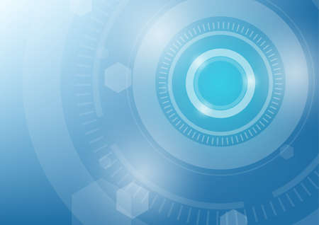 blue green background: blue green circle technology abstract background