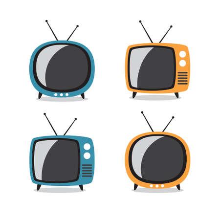 retro tv: Retro tv flat design
