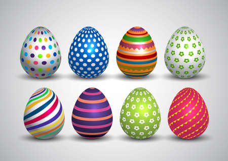 happy Easter. colorful Easter egg. vector illustration design 일러스트