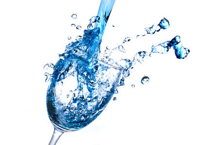 Wine Abstract Splashing Stock Photo