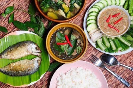 Mean chili, Thai s food Stock Photo