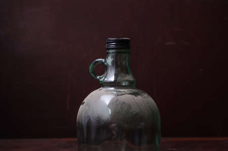 Old antique bottles photo