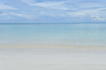 stormy waters: Crystal clear turquoise water at tropical Thailand beach Stock Photo