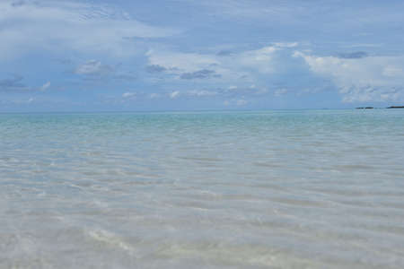 stormy waters: clear sea water, sea backgroud Stock Photo