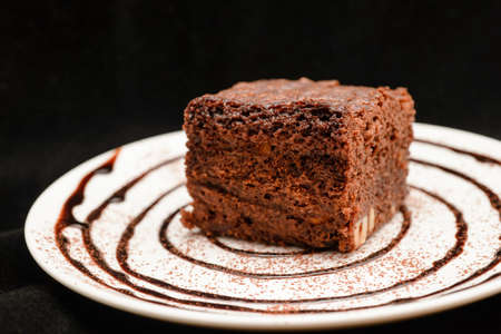 delicious traditional homemade cake Stock Photo