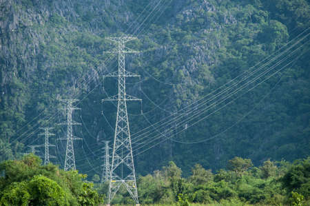 electrify: Electricity tower and green environment