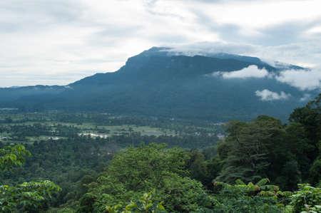 geological feature: Mountain landscape
