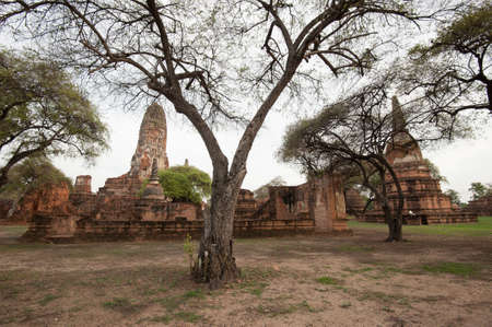 Old Temple Architecture, Ayutthaya