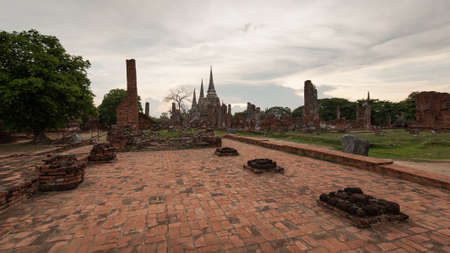Wat Phrasisanpetch, ancient temple in the Ayutthaya Historical Park, Ayutthaya, Thailand.
