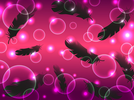 crow feather mystery fantasy abstract background