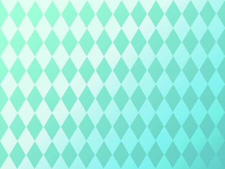 green diamond pattern background illustration vector