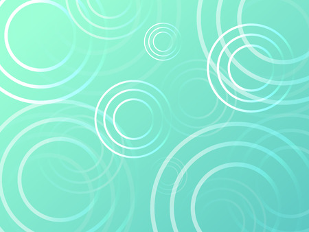 green rain drop wave pattern background illustration vector