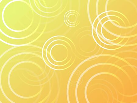 yellow rain drop wave pattern background illustration vector