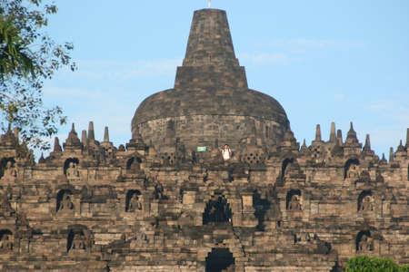 Indonesian temple photo