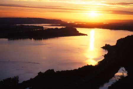コロンビア川の峡谷