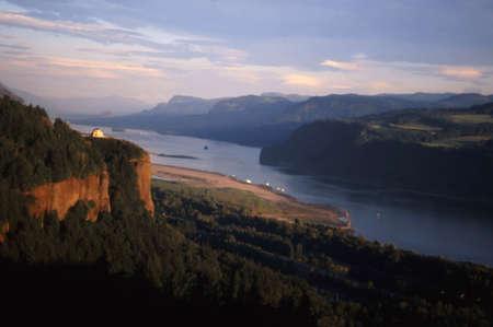 Columbia  River gorge 版權商用圖片