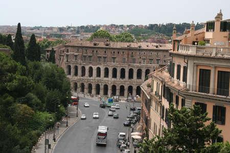 ローマ市内中心部