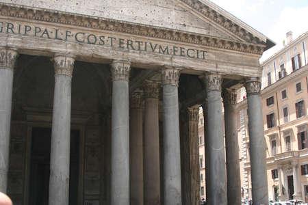 Italian Roman Ruins Imagens