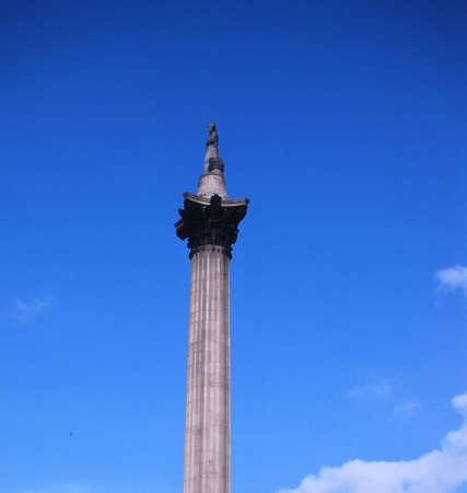 イギリスの記念碑 写真素材