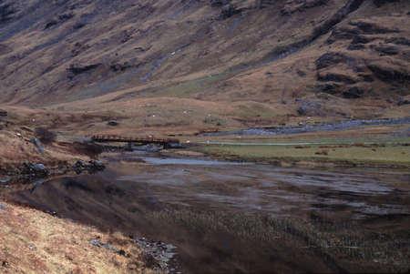 スコットランドの高地 写真素材