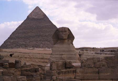 Egypt Great Pyramid Sphinx