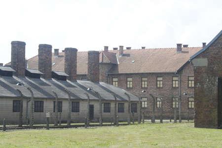 central chamber: Poland Auschwitz Editorial