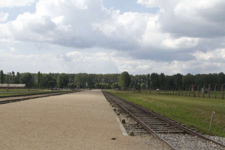 Poland Birkenau concentration camp photo