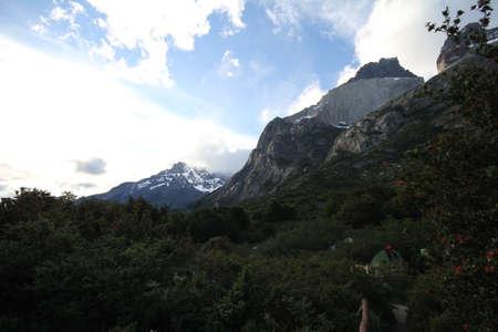 W Trek on Torres Del Paine Park Stock Photo - 17050050