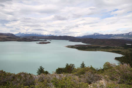 W Trek on Torres Del Paine Park Stock Photo - 17050121