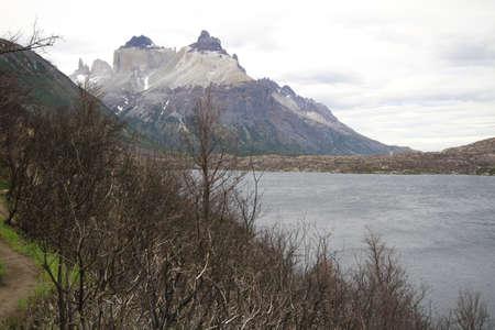 W Trek on Torres Del Paine Park Stock Photo - 17050079