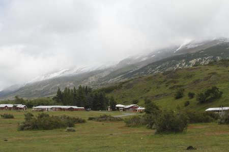 Cabins on w trek Stock Photo - 17067141